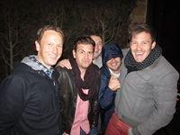 Grant Lapping (Havas), Mike Sharman (Retroviral), Ross Mason (Habari Media), Leigh Hitch (Hitch Digital) and Ray Connell (Aqua)