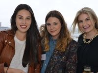 Talya Goldberg (Blogger), Raya Rossi (A Fashion Friend), Leigh van den Bergh (Blogger)
