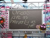 Miniture Oreo billboard