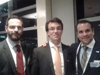 Jorge Salvador Nunes (Executive Business Administrator, Greentech Angola), Michael Derenzo (Country Manager, Southern Africa US Trade and Development Agency) and Ben Todd (Business Development Officer, Export-Import)