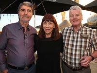 Alan and Denise Schlesinger, Hugh Patrick