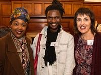 #TFGOnlineMan: Landa Willie, Monde Mist & Kathryn Sakalis