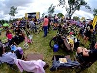 After the races, those who attended relaxed to the tunes of Majozi, Beatenberg and Rubber Duc