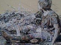 Save Water exhibition by Olatunji Sanusi at ODA