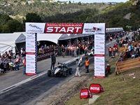 Andre Bezuidenhout wins 2017 Jaguar Simola Hillclimb