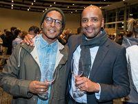 Jemaine Diedricks and Owen Mbendu