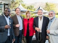 Prosper Gundura, Chris du Toit, Siobhan Thompson, John Ford and David Biggs