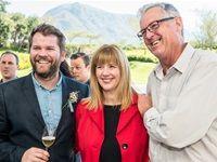 JD Pretorius, Siobhan Thompson and Chris Taylor