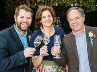 JD Pretorius, Caroline van Schalkwyk and Chris du Toit