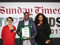 Sunday Times Top Brands awards ceremony