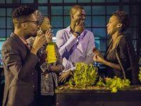 Mandla Dakada, Thabiso Mamabolo, Dave Kakamba and Palesa Mamabolo