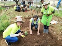 Woolies celebrates World Food Day by gardening