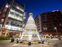 Moët & Chandon unveils its Christmas Tree