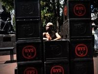 Lukhanyiso Skosana in 'iRhanga' at Slave Lodge for LIVE ART NETWORK AFRICA