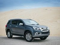 Isuzu's mu-X to launch it into the SUV segment