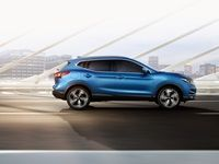 The newly improved Nissan Qashqai 1.2T Acenta