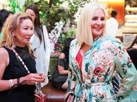 Dr Gulmira with Anina Malherbe-Lan, CEO & Founder, Vivid Luxury