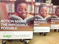 Sage Foundation opens mobile library at Saphinda Primary School in Umlazi