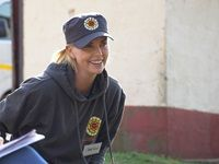 Charlize Theron visits NPO in Pietermaritzburg