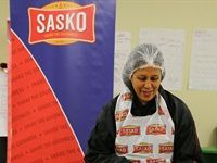Soup and sandwiches for Sasko's 67 minutes