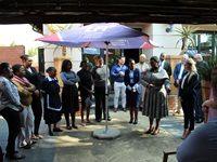 ANC Women's League president visits LFP Training
