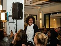 Scenes from the second SheSays Cape Town event