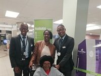 Kulula.com gives 100-year-old Emily Sakulwa her first flight