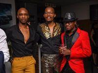 Nhlanhla Mchunu, Mandla Mngomezulu and Paledi Segapo