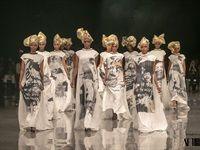 David Tlale's Mandela collection at AFI Joburg Fashion Week