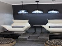 Inside a new, contempory beauty spa by Looking Good LCN