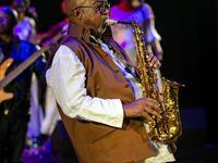 "Sipho ""Hotstix"" Mabuse at the Soweto Theatre"