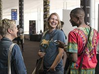 Students show off at Loeries Student Porfolio Day