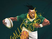 SuperSport launches art gallery to celebrate star Springbok performers