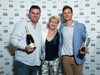 No.01 Restaurant of the Year: La Colombe - Scot Kirton, Chief Judge Margot Janse and James Gaag