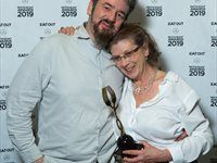 Neil and Tina Jewell of Jewell's Restaurant, Eat Out Retail Capital New Restaurant of the Year Award winner