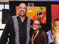 Craig Newman, CEO - Johannesburg Expo Centre; Tracy Malebana, Marketing & Communications Executive – Johannesburg Expo Centre
