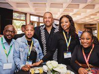 Magic Dlomo, Leisure Manager - Gauteng Tourism; Craig Newman, CEO - Johannesburg Expo Centre; Mmberegeni Mashige, Brand Manager - Gauteng Tourism; Nonhlanhla Mbethe, Media Relations Manager - Gauteng Tourism; Anele Mdzikwa, Digital Manager - Gauteng Tourism
