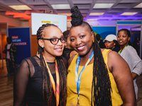 Tracy Malebana, Marketing & Communications Executive – Johannesburg Expo Centre; Mputle Dikobe – Gauteng Tourism