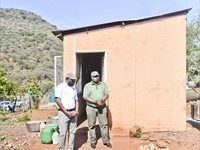 SANParks distributes food parcels to destitute communities