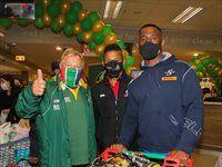 Springboks legends take part in charity challenge at SuperSpar