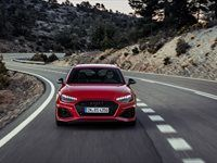The new, refurbished Audi RS4 Avant, RS 5 family
