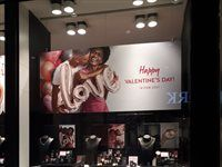 American Swiss – Window display, decorations, visual, merchandising and signage